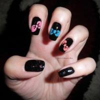 Alphabet nail art challenge - Letter B